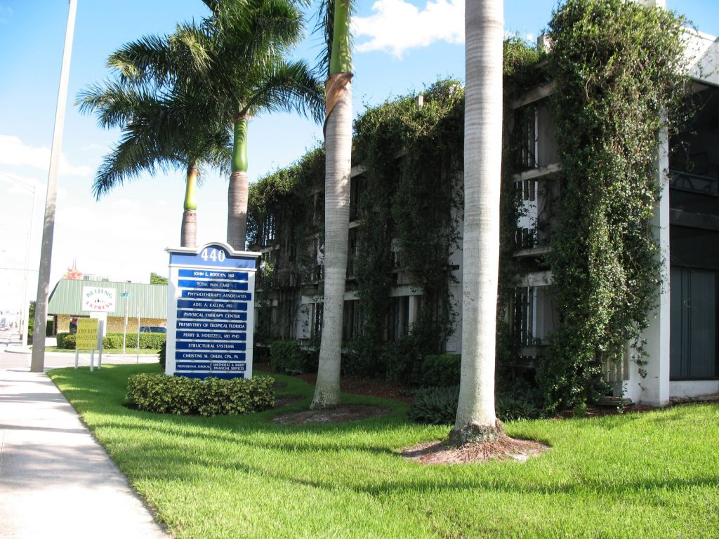 This commercial building in South Florida at 440 East Sample Road sold for $1,325,000. Rapp Realty represented the seller
